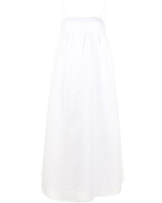 CECILIE BAHNSEN ペイズリー ドレス White