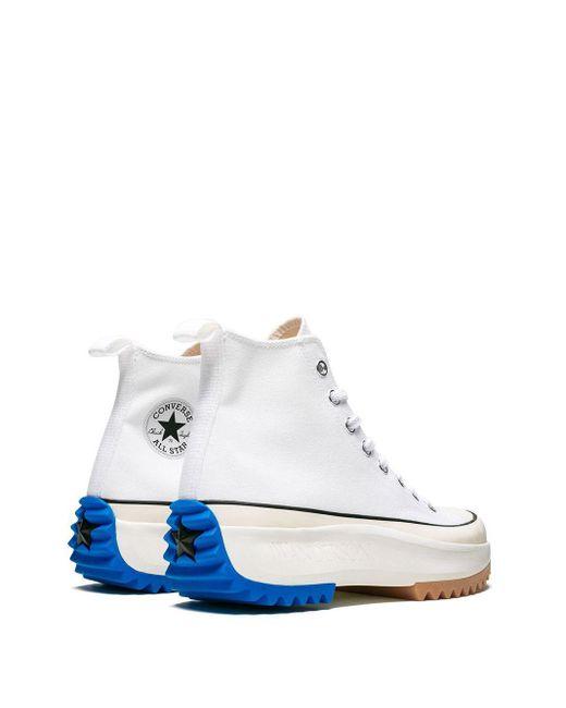 Zapatillas Run Star Hike de x Converse J.W. Anderson de hombre de color White