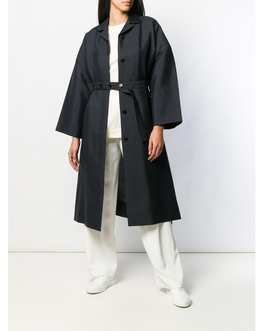 Пальто Libby Jil Sander, цвет: Black
