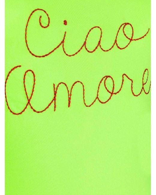 Giada Benincasa Ciao Amore 水着 Yellow