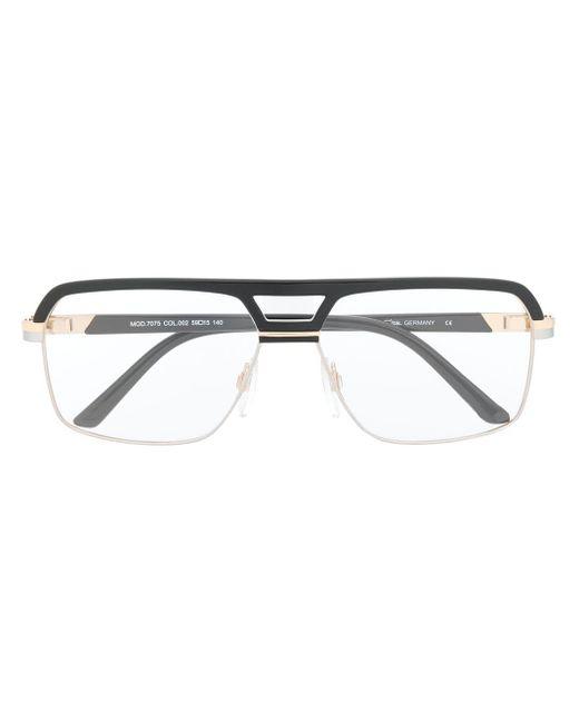 メンズ Cazal オーバーサイズ 眼鏡フレーム Multicolor