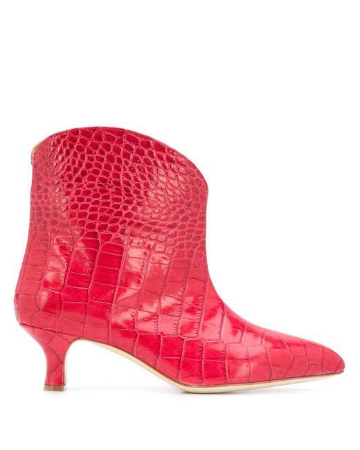 Paris Texas アンクルブーツ Pink