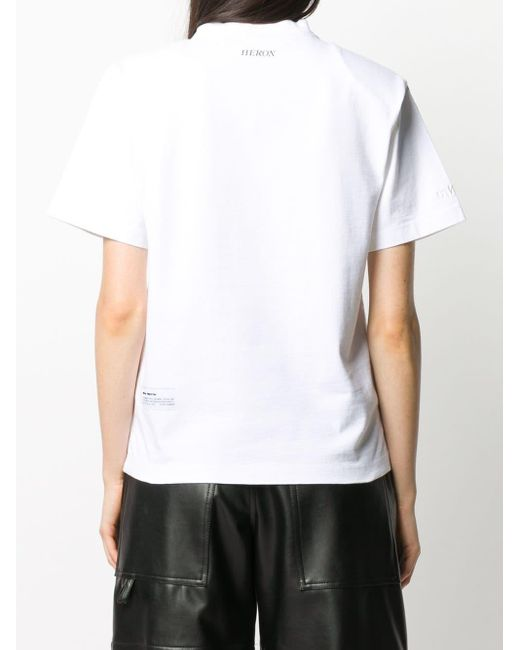 メンズ Heron Preston ロゴ Tシャツ White