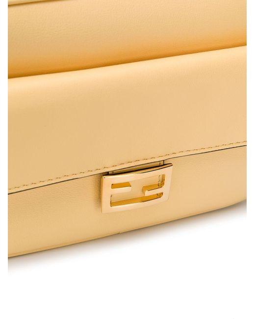 Сумка Через Плечо Baguette Fendi, цвет: Yellow