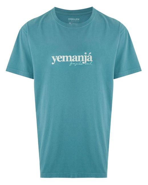 メンズ Osklen Yemanja Type Tシャツ Blue