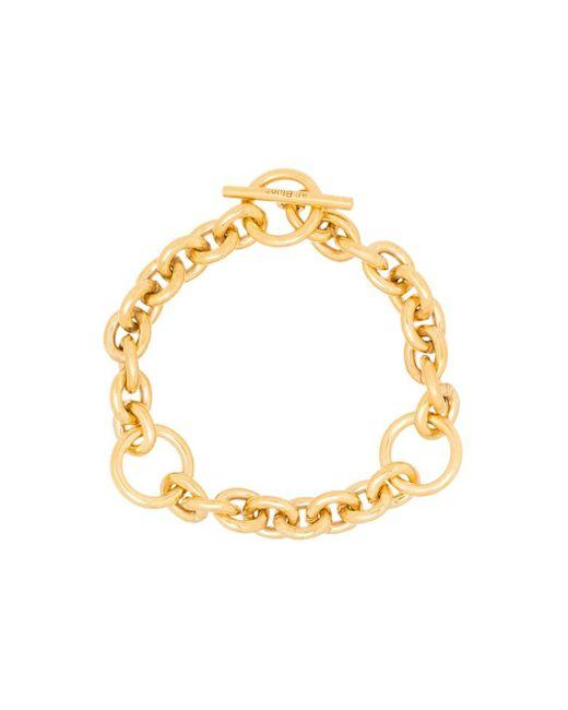 Bracelet en chaîne à fermoir barrette All_blues en coloris Metallic