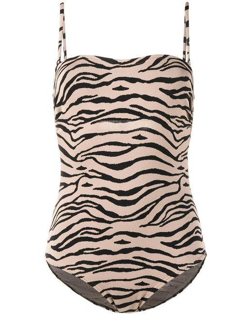 Prism | Brown Bathsheba Tiger One-piece Swimsuit | Lyst