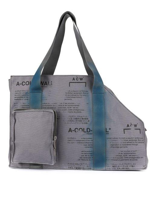 A_COLD_WALL* Gray V2 Tote Bag