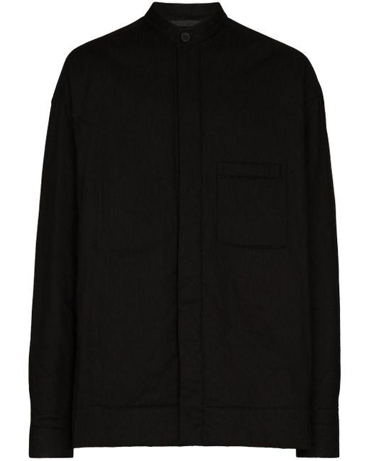 Chemise à logo brodé Haider Ackermann pour homme en coloris Black
