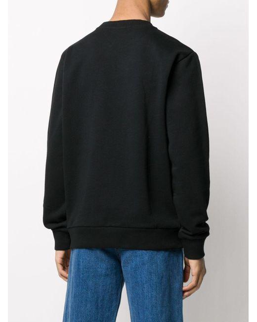 メンズ Marcelo Burlon クルーネック スウェットシャツ Black