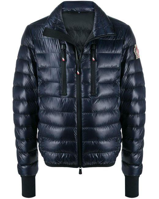 メンズ 3 MONCLER GRENOBLE キルティング パデッドジャケット Blue