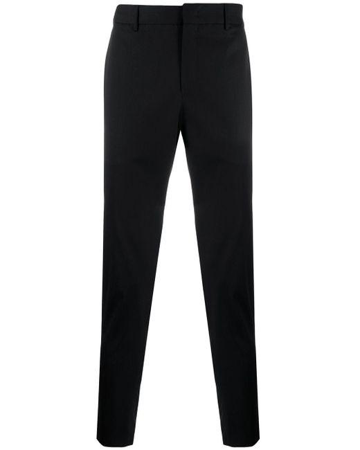 PT01 Black Tailored Trousers for men