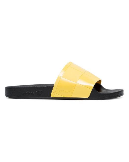 メンズ Adidas Raf Simons X Adilette サンダル Multicolor