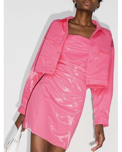 Maisie Wilen ミニドレス Pink