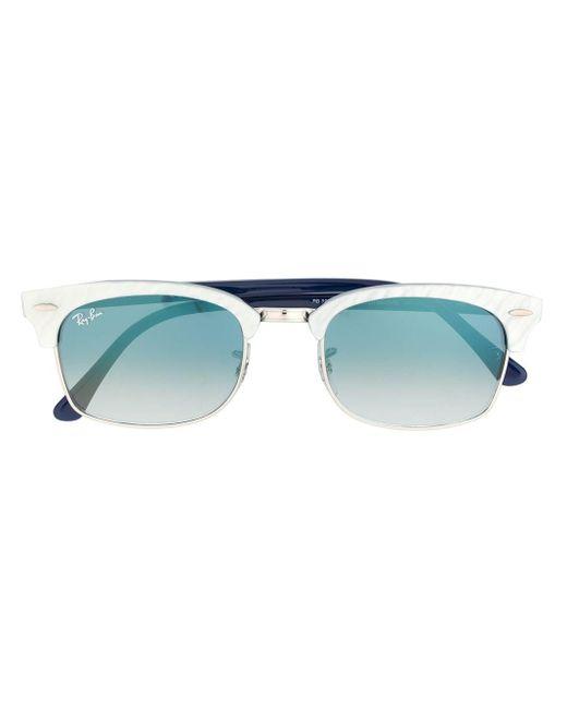 Солнцезащитные Очки В D-образной Оправе Ray-Ban, цвет: Blue