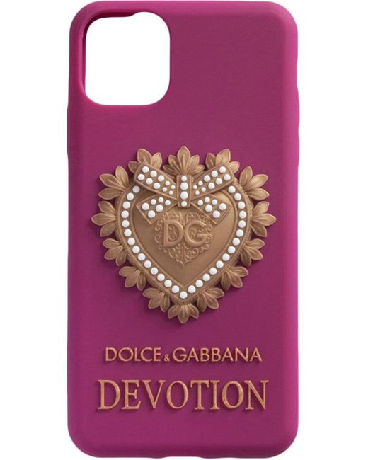 Чехол Devotion Для Iphone 11 Pro Dolce & Gabbana, цвет: Multicolor