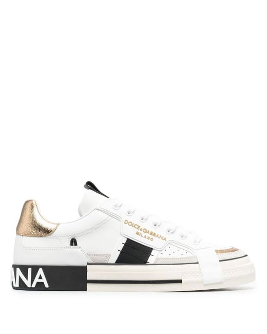 Кеды Custom 2.zero Dolce & Gabbana для него, цвет: White