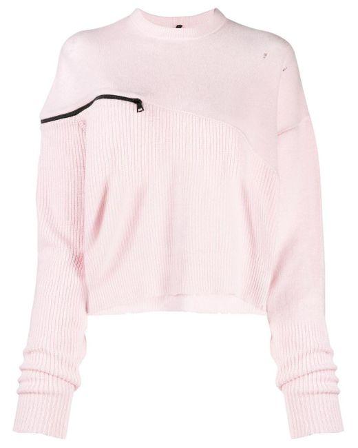 Unravel Project ルーズフィット セーター Pink