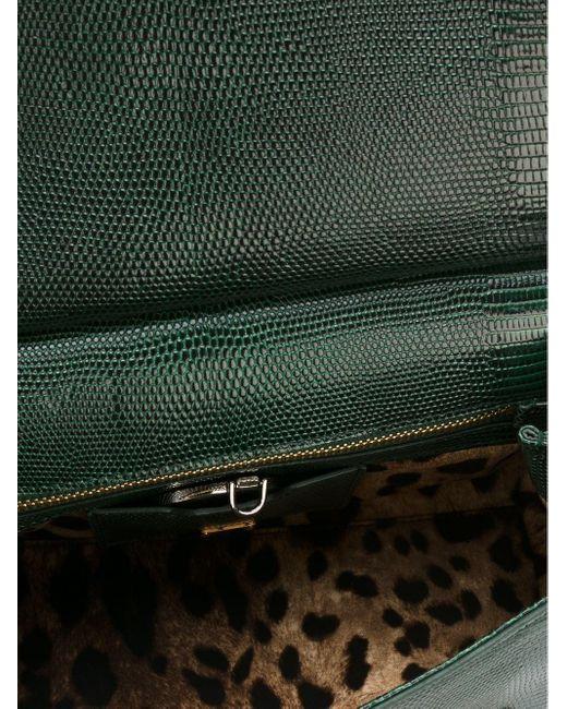 "Sac à main ""Sicily"" médium Dolce & Gabbana en coloris Green"
