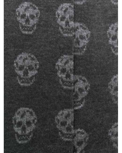 メンズ Alexander McQueen Skull 靴下 Gray