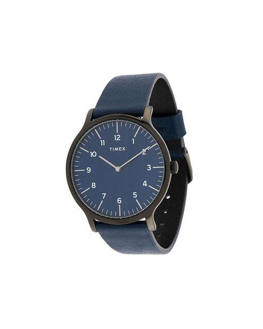 メンズ Timex Oslo 40mm 腕時計 Blue