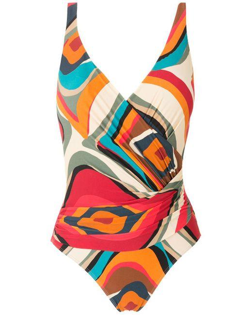Lygia & Nanny Multicolor Maisa Printed Swimsuit