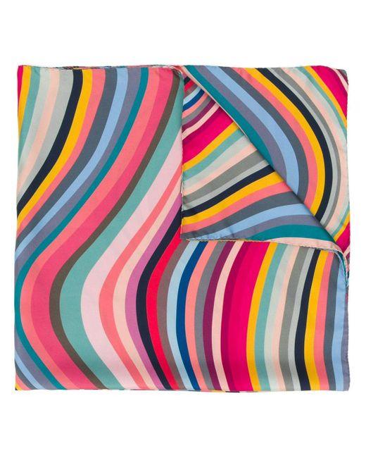 Paul Smith Swirl スカーフ Pink