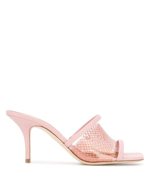 Malone Souliers Laney 70 ミュール Pink