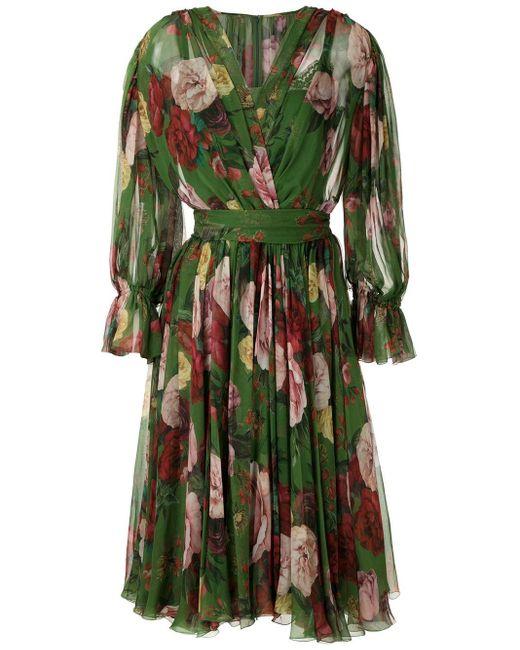 Dolce & Gabbana F6e3lths16k Hv82a Natural (veg)->cotton Green
