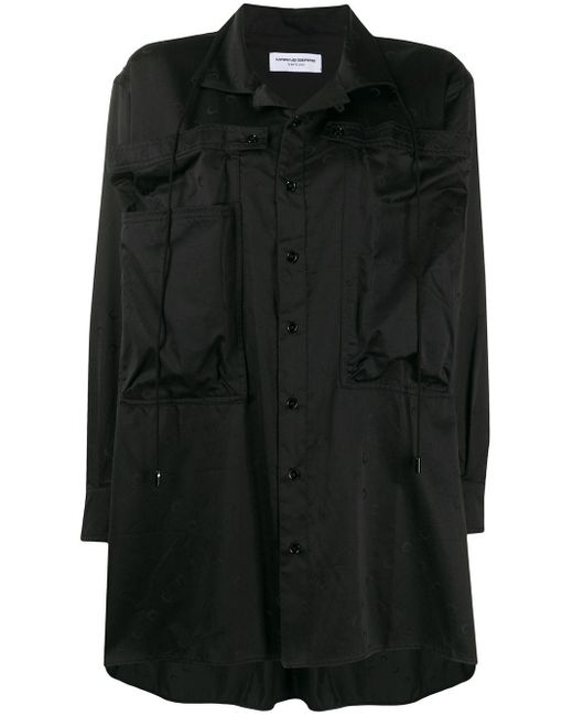 MARINE SERRE グラフィックシャツ Black