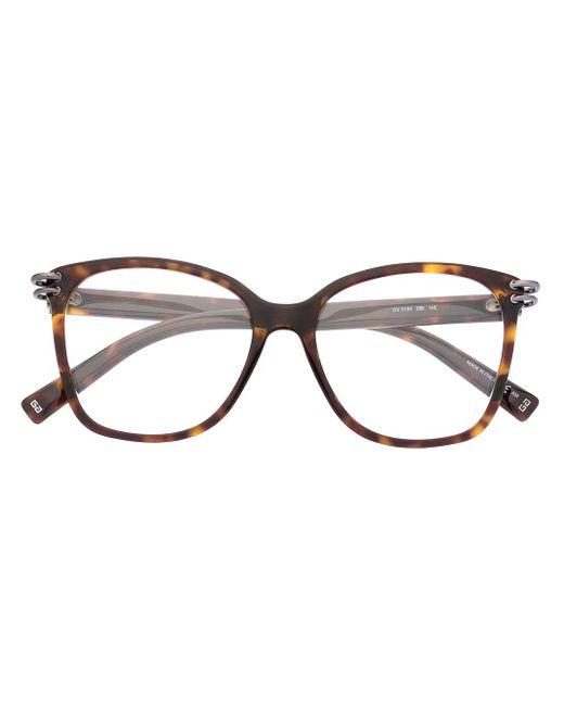 Очки В Оправе 'кошачий Глаз' Givenchy, цвет: Brown