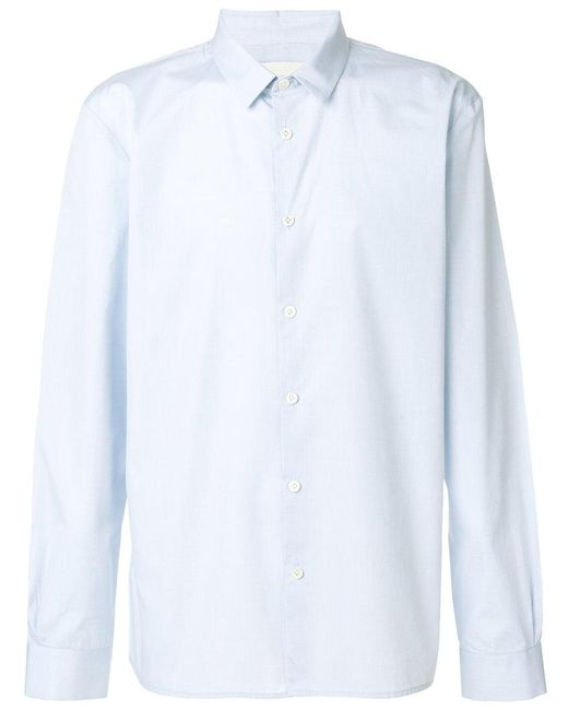 Stephan Schneider - Blue Long Sleeve Shirt for Men - Lyst