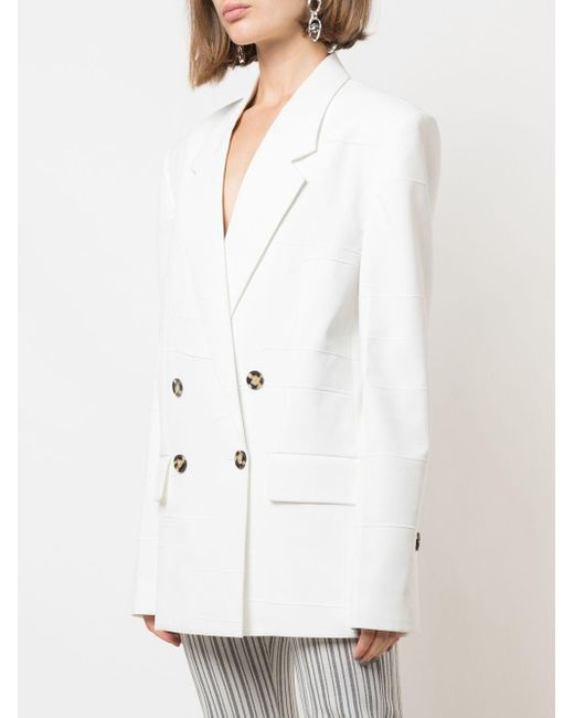 Proenza Schouler オーバーサイズ ダブルジャケット White