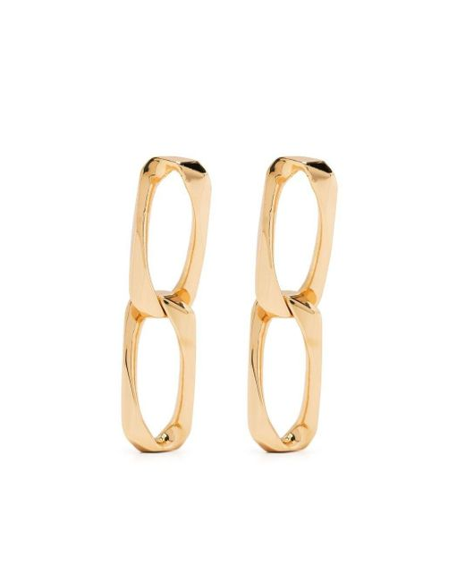 Emanuele Bicocchi Metallic Chain-link Earrings