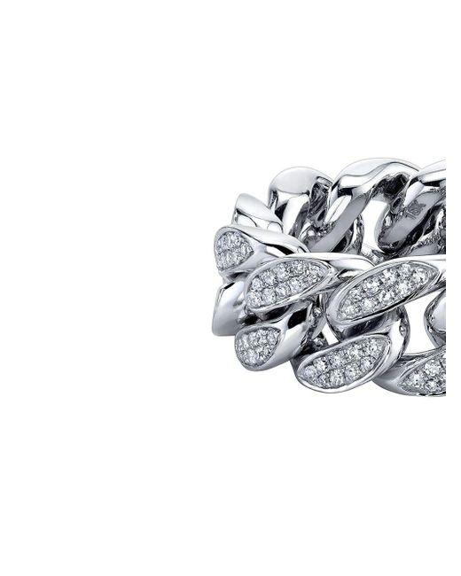 SHAY ダイヤモンド リング 18kホワイトゴールド Multicolor