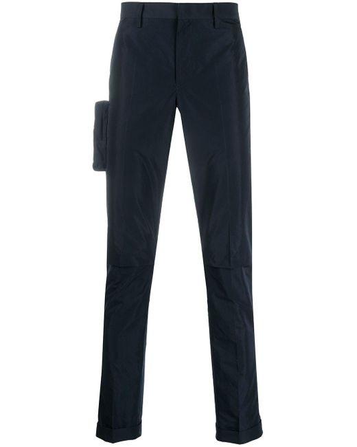 Pantaloni skinny con tasche di Undercover in Blue da Uomo