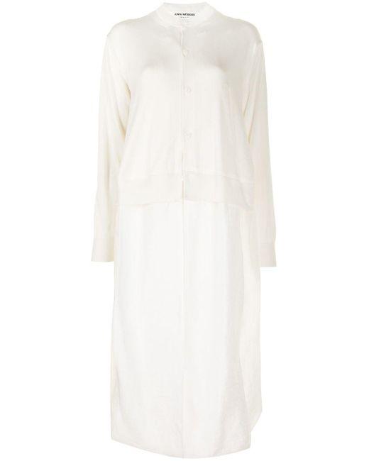 Junya Watanabe レイヤードディテール ドレス White