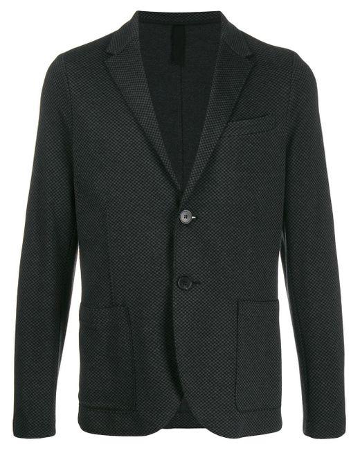 メンズ Harris Wharf London シングルジャケット Gray