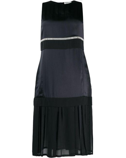 Платье С Прозрачной Вставкой 3.1 Phillip Lim, цвет: Black