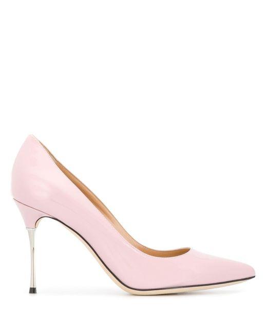 Sergio Rossi Godiva Steel パンプス Pink
