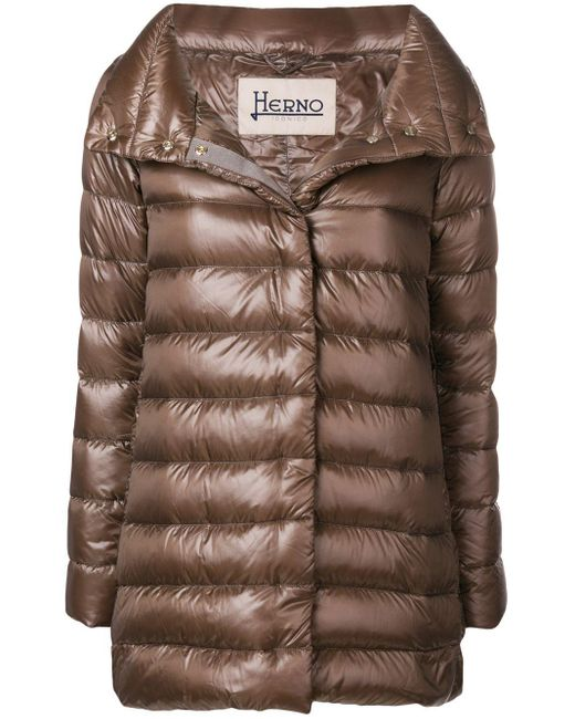 Herno Multicolor Padded Coat