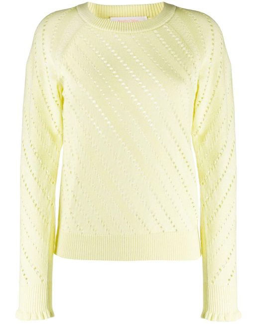 See By Chloé クルーネック セーター Yellow