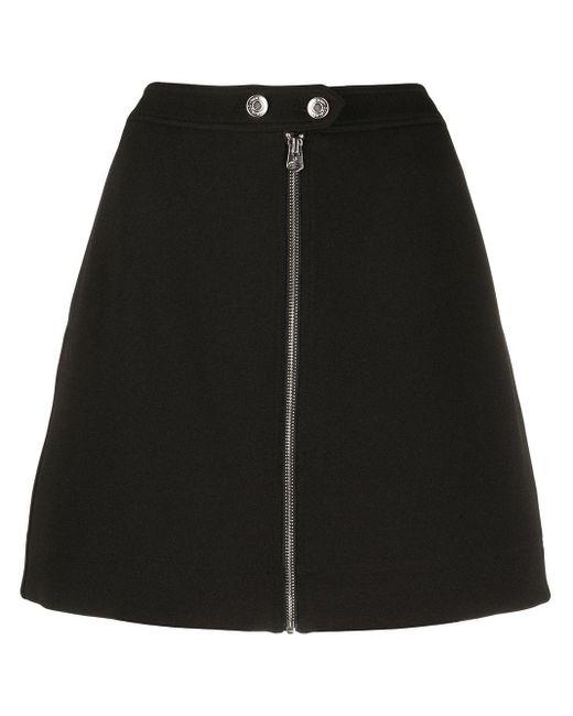 Calvin Klein Aライン ミニスカート Black