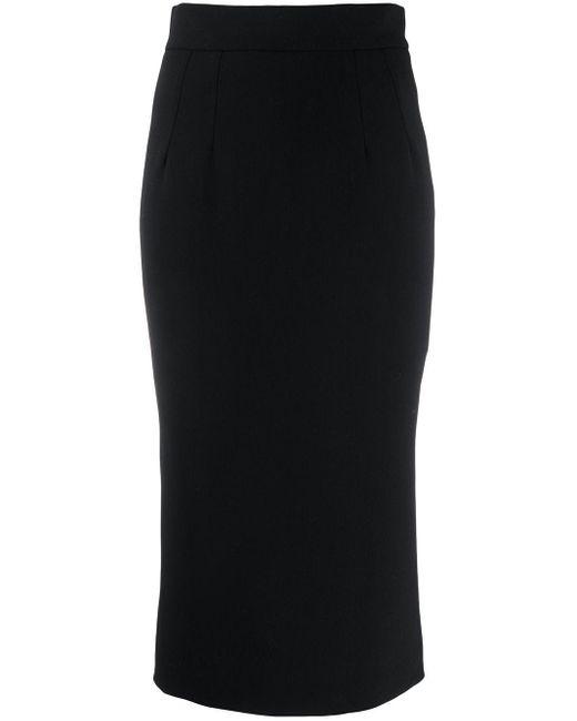 Dolce & Gabbana ペンシルスカート Black