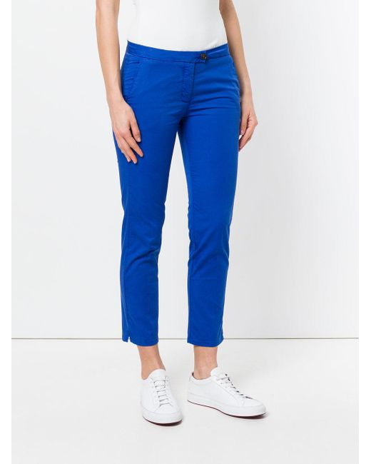 Cheap Sale Free Shipping New York cropped trousers - Blue Woolrich 2018 For Sale 7rdjVABiQx