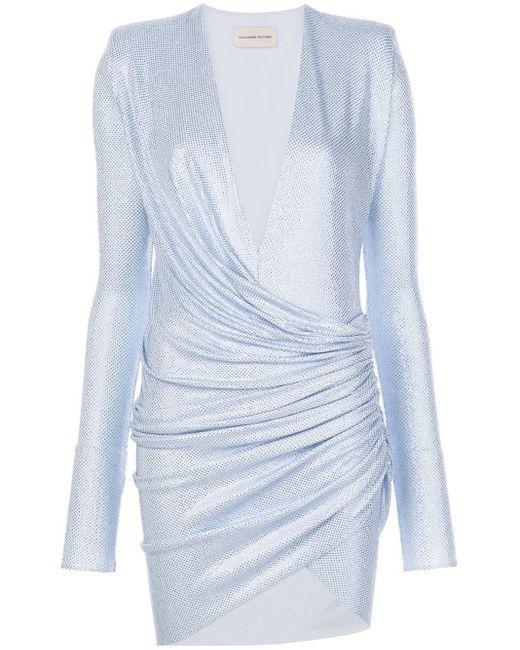 Alexandre Vauthier ギャザードレス Blue