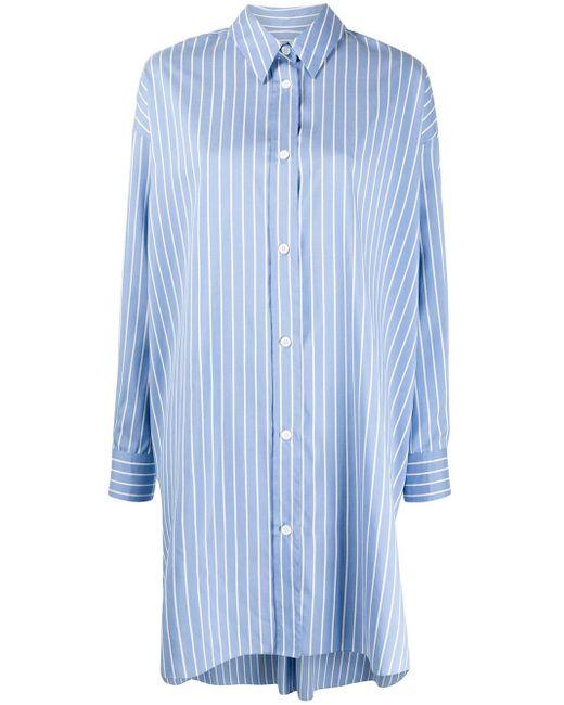 Isabel Marant ストライプ ロングスリーブシャツ Blue