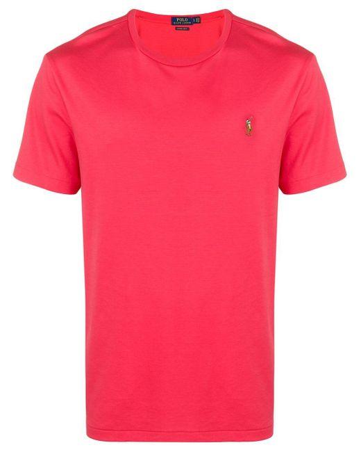 メンズ Polo Ralph Lauren Tシャツ Pink