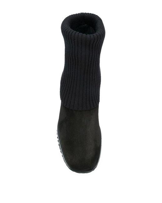 Hogan Black Interactive Boots