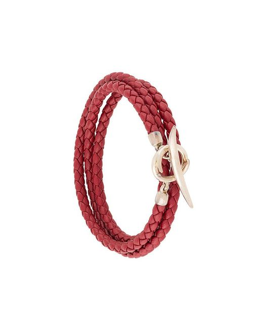 Shaun Leane - Red Quill Wrap Bracelet - Lyst